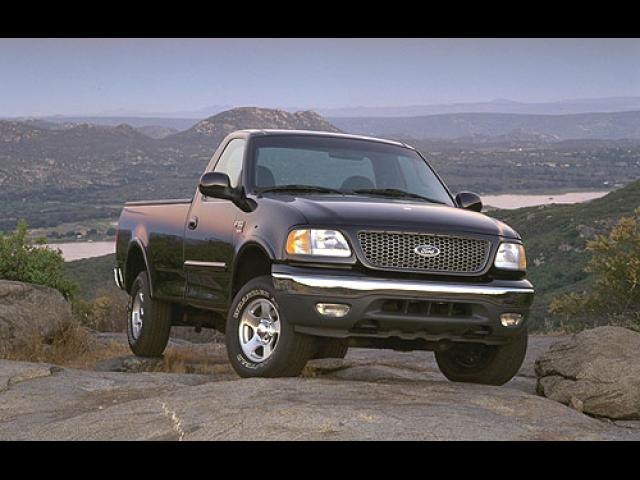 Junk 1999 Ford F150 in Lewisville