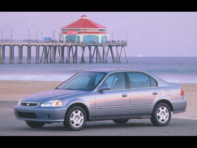 Junk 1999 Honda Civic in San Lorenzo