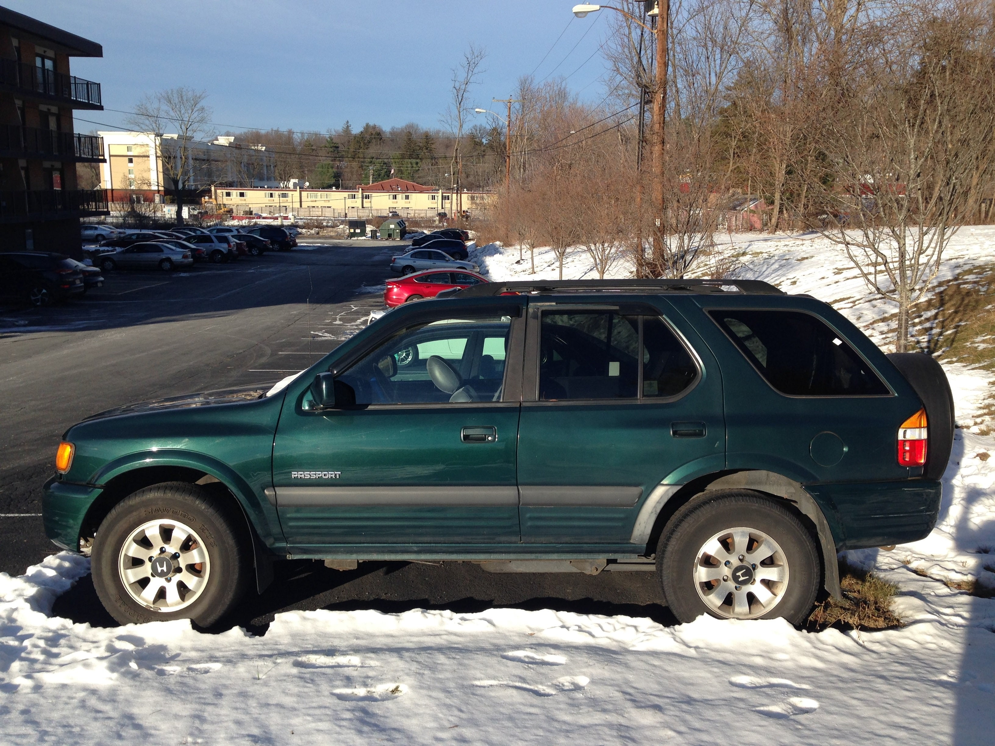 Junk 1999 Honda Passport in Poughkeepsie