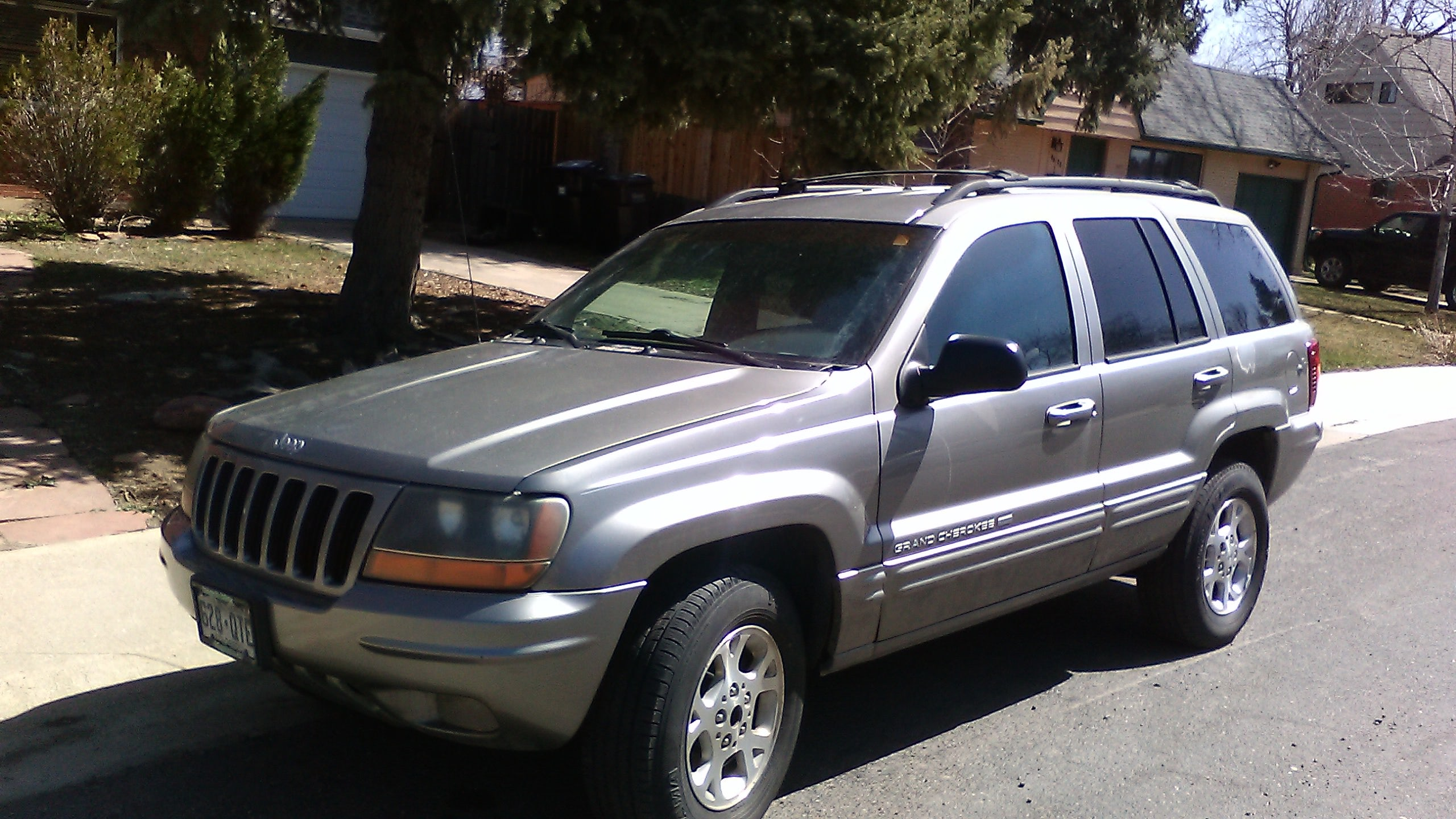 Junk 1999 Jeep Grand Cherokee in Boulder