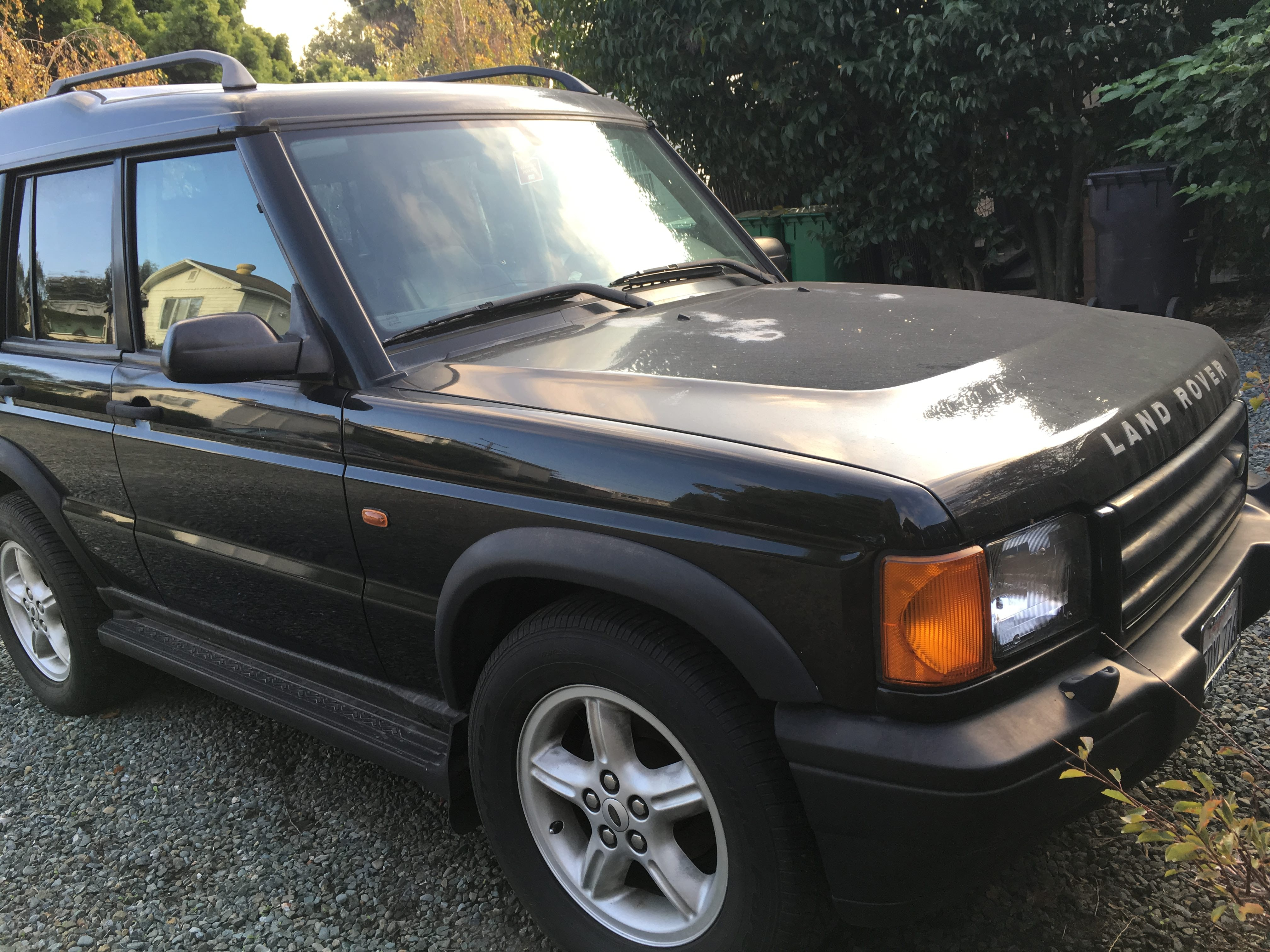 Junk 1999 Land Rover Discovery II in San Leandro