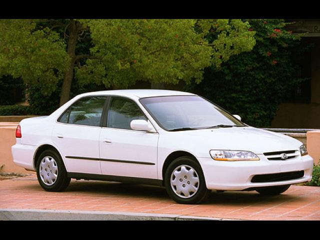 Junk 2000 Honda Accord in Media