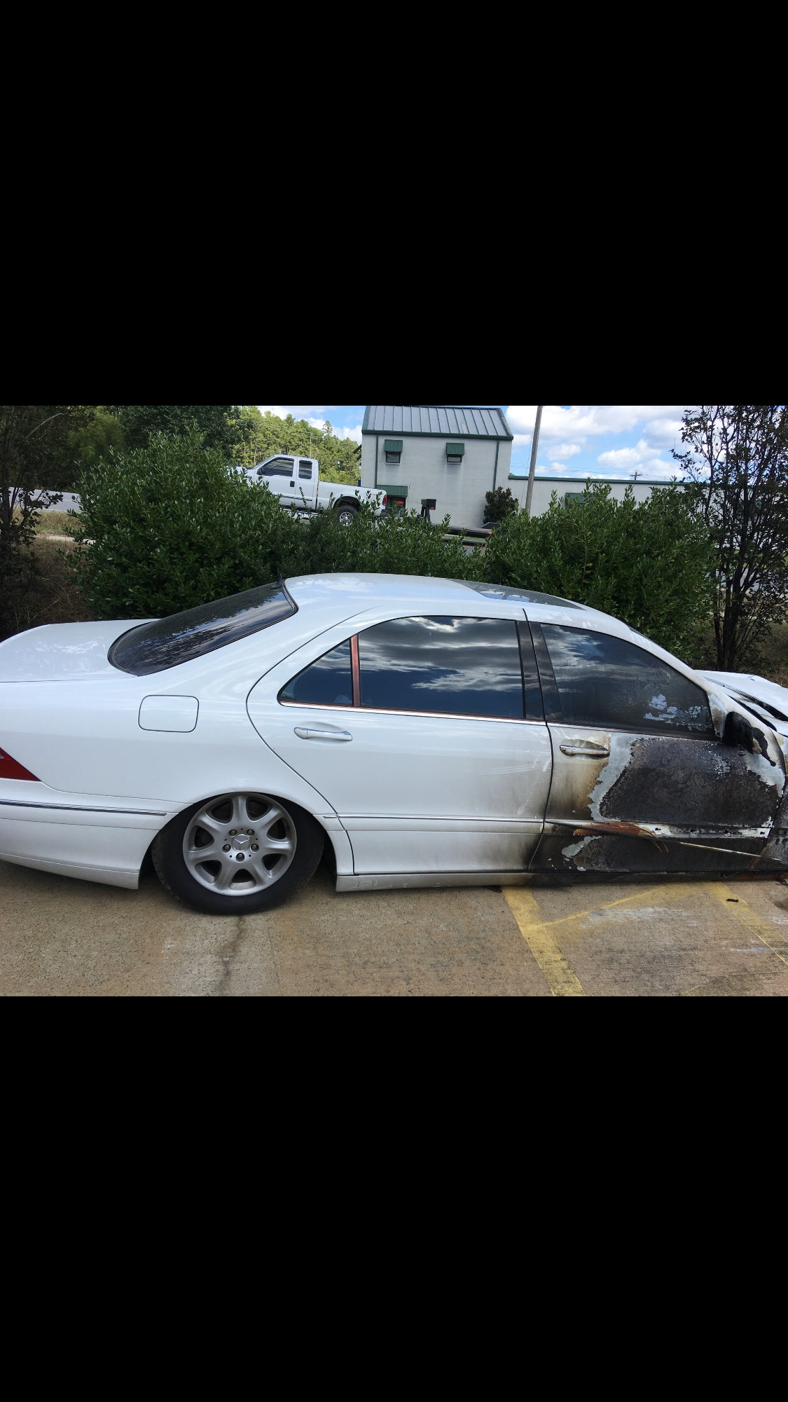 Junk 2000 Mercedes-Benz S in Little Rock