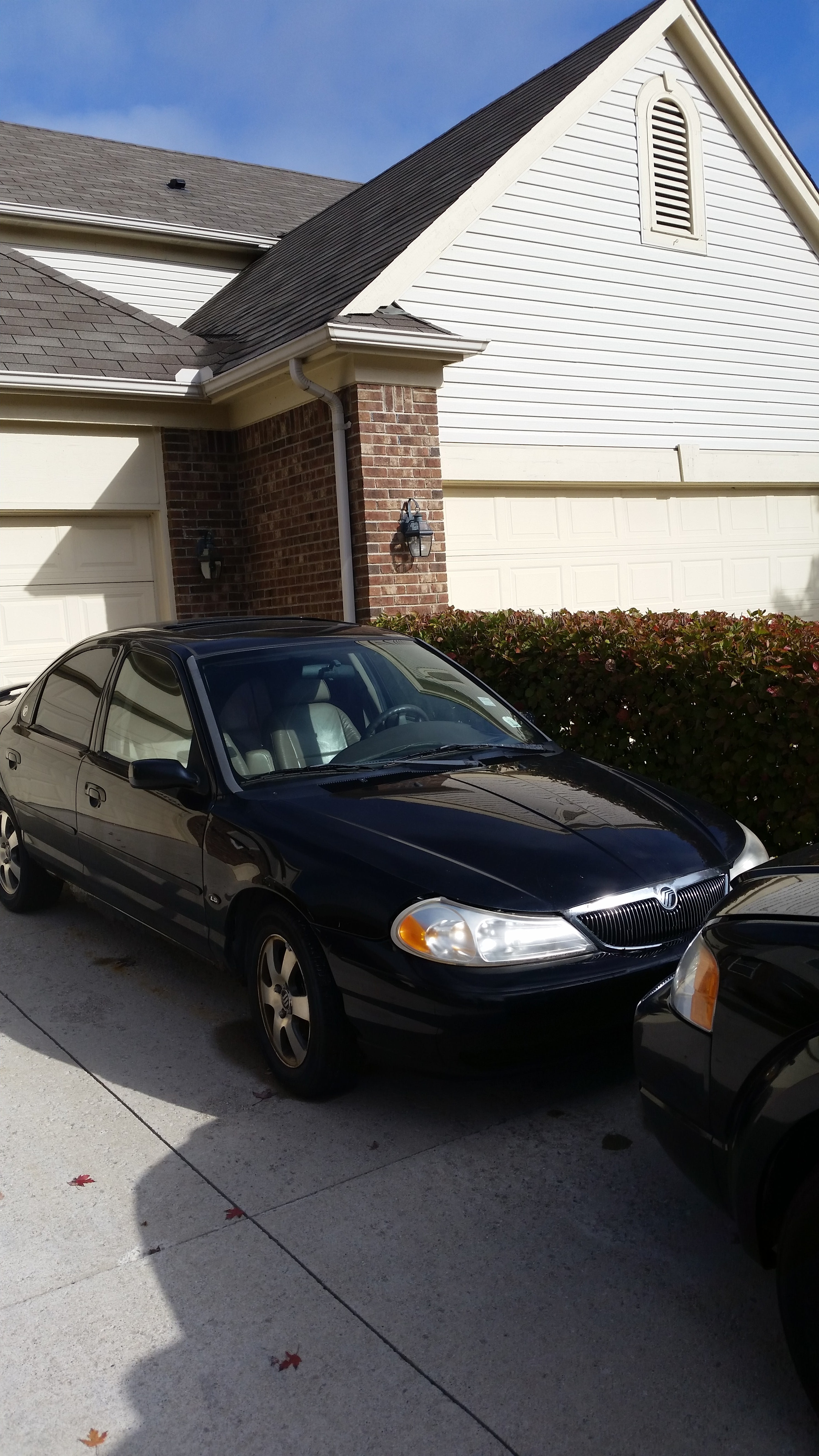 Junk 2000 Mercury Mystique in Macomb