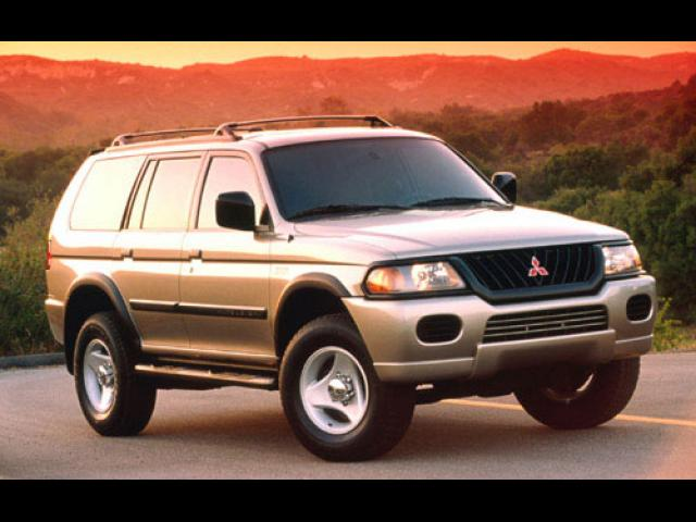 Junk 2000 Mitsubishi Montero in Red Oak