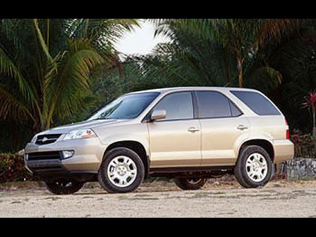 Junk 2001 Acura MDX in Long Beach