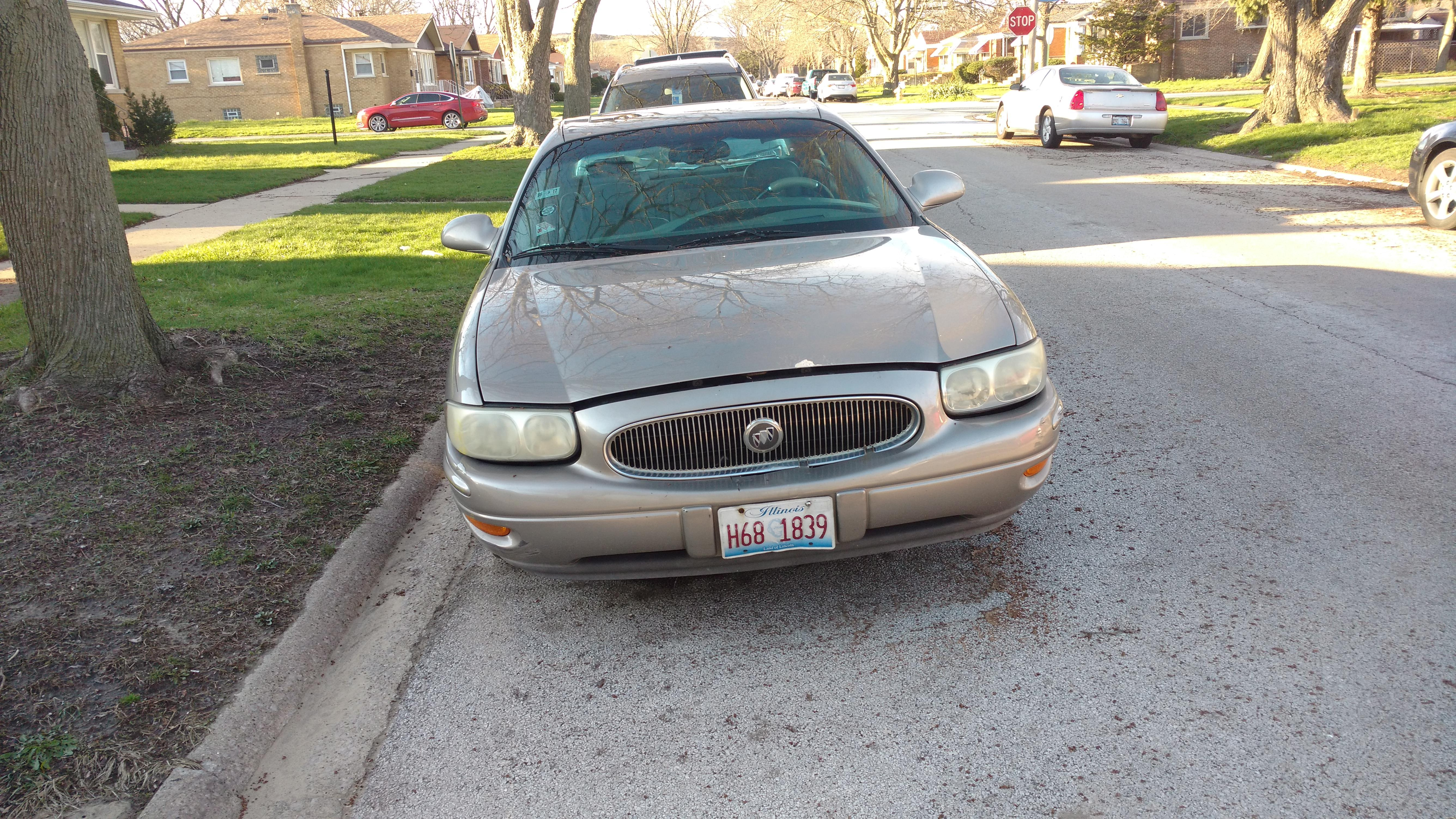 Junk 2001 Buick LeSabre in Dolton