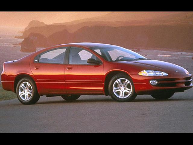Junk 2001 Dodge Intrepid in Golden