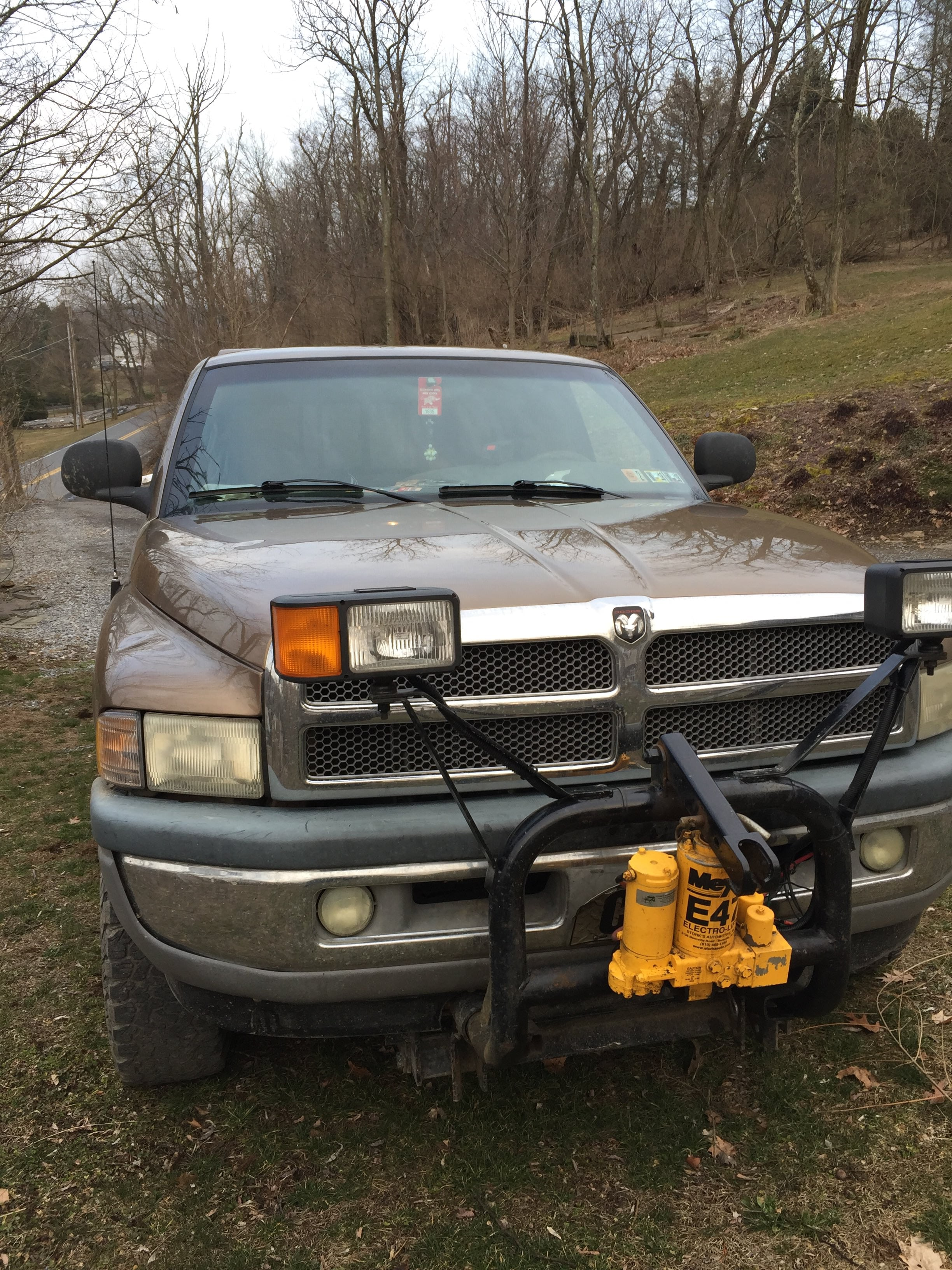 Junk 2001 Dodge RAM 1500 in Kutztown