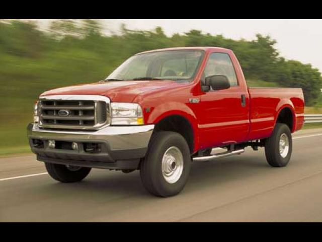 Junk 2001 Ford F250 in Plymouth