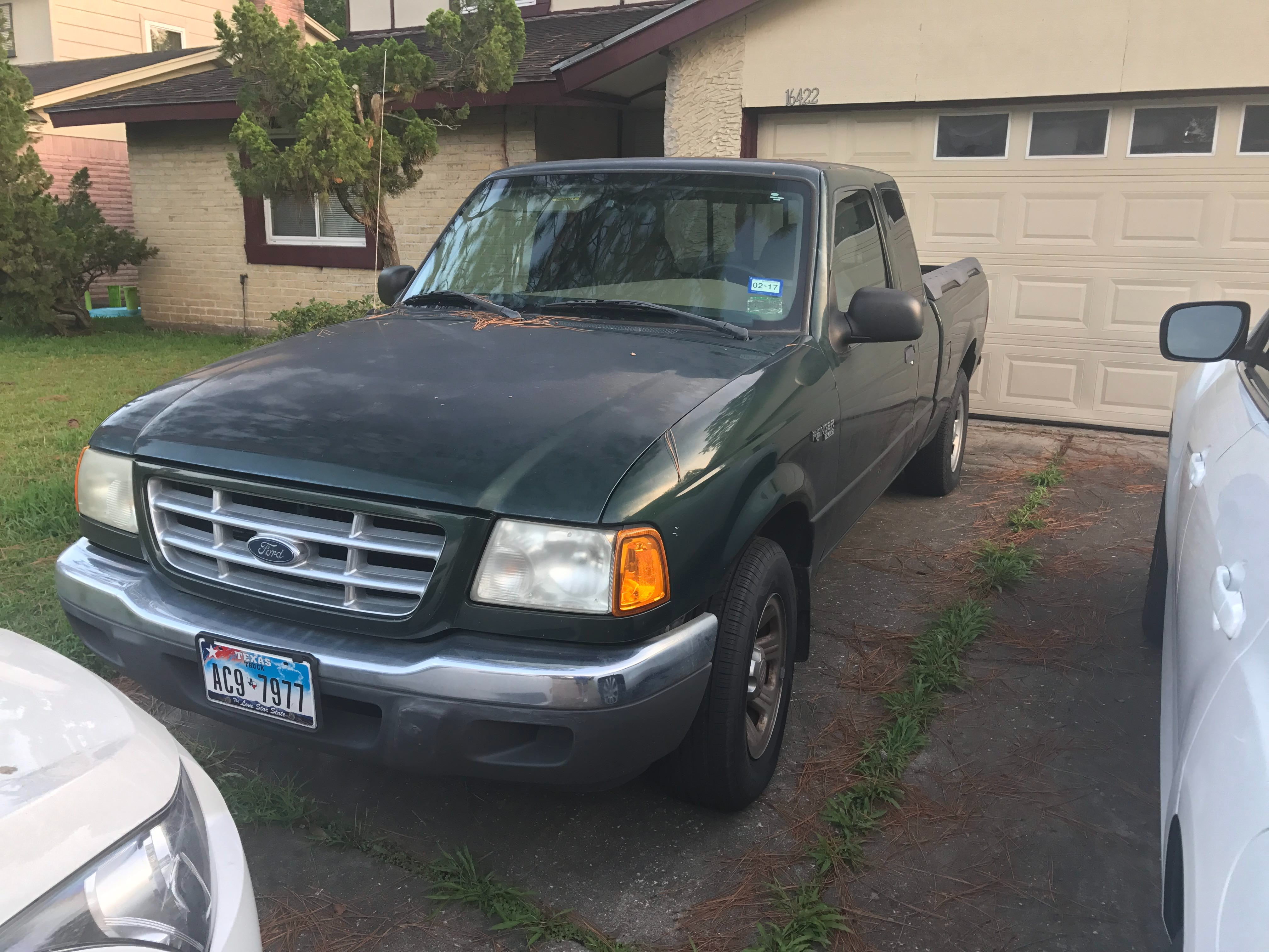 Junk 2001 Ford Ranger in Friendswood