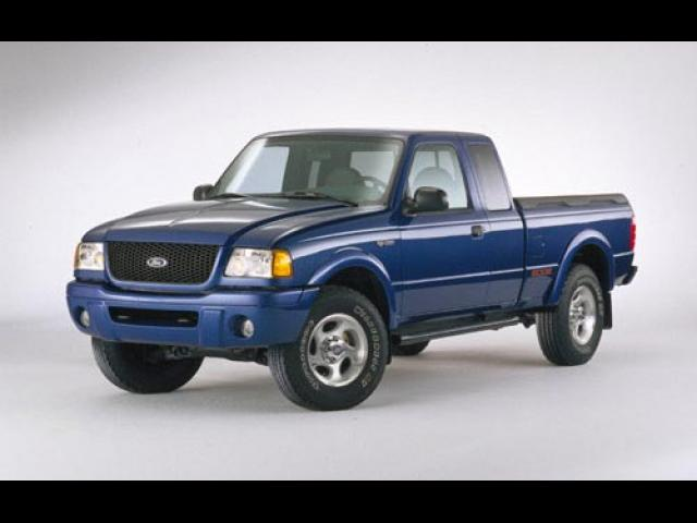 Junk 2001 Ford Ranger in Street