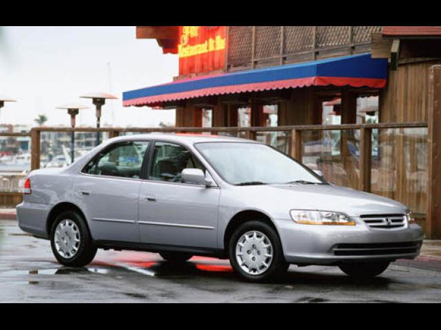 Junk 2001 Honda Accord in Quincy