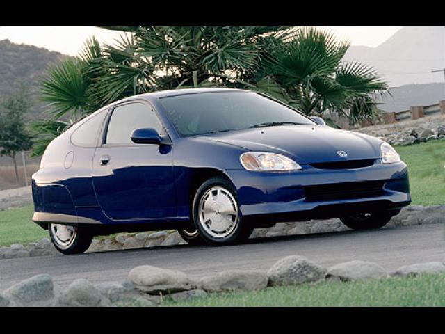Junk 2001 Honda Insight in Glendale
