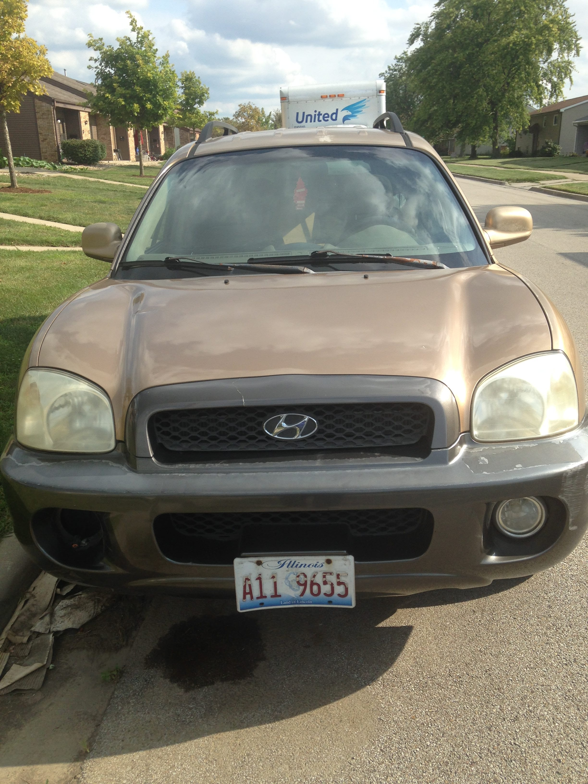 Junk 2001 Hyundai Santa Fe in Normal