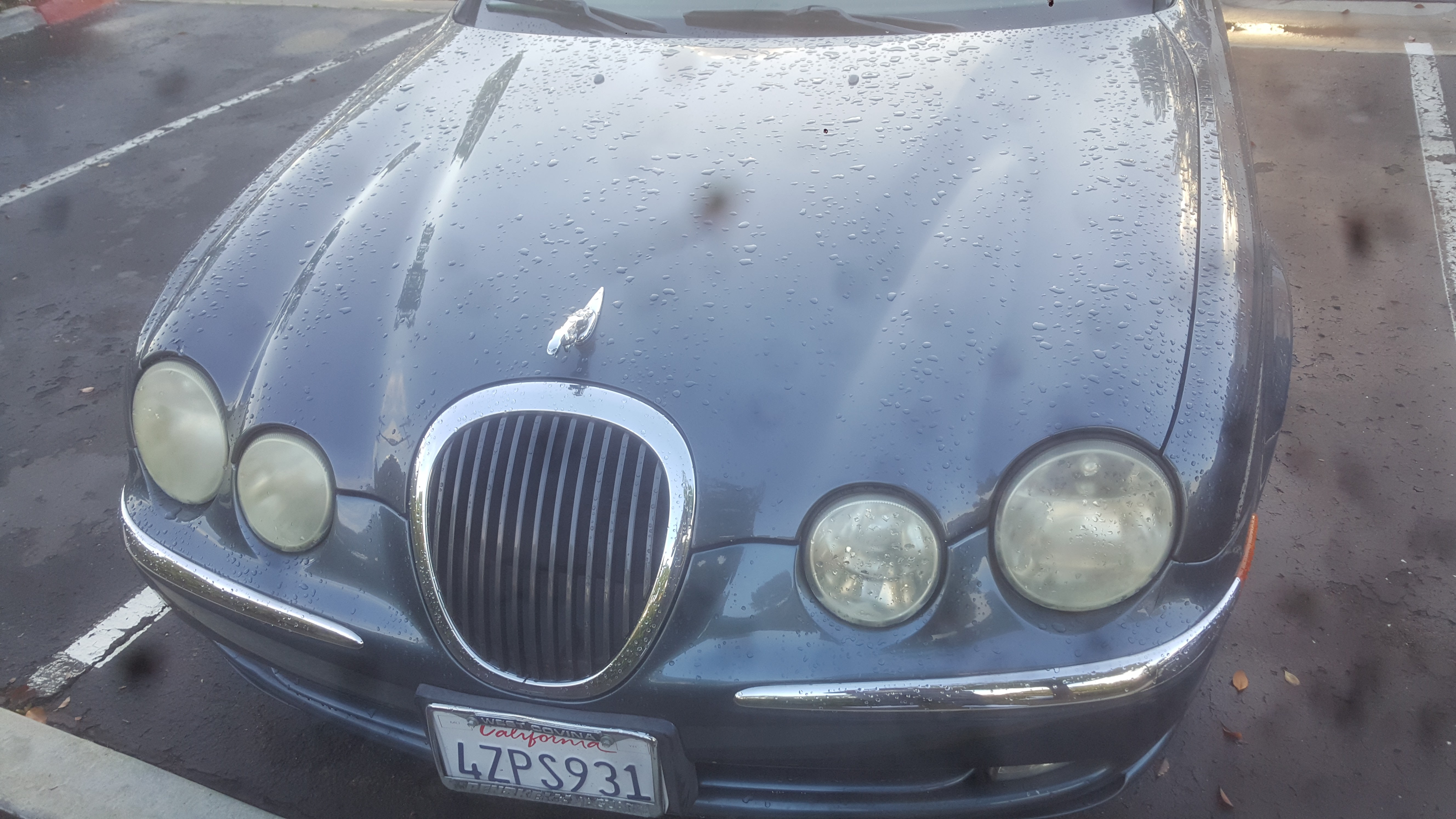 Junk 2001 Jaguar S-Type in San Diego