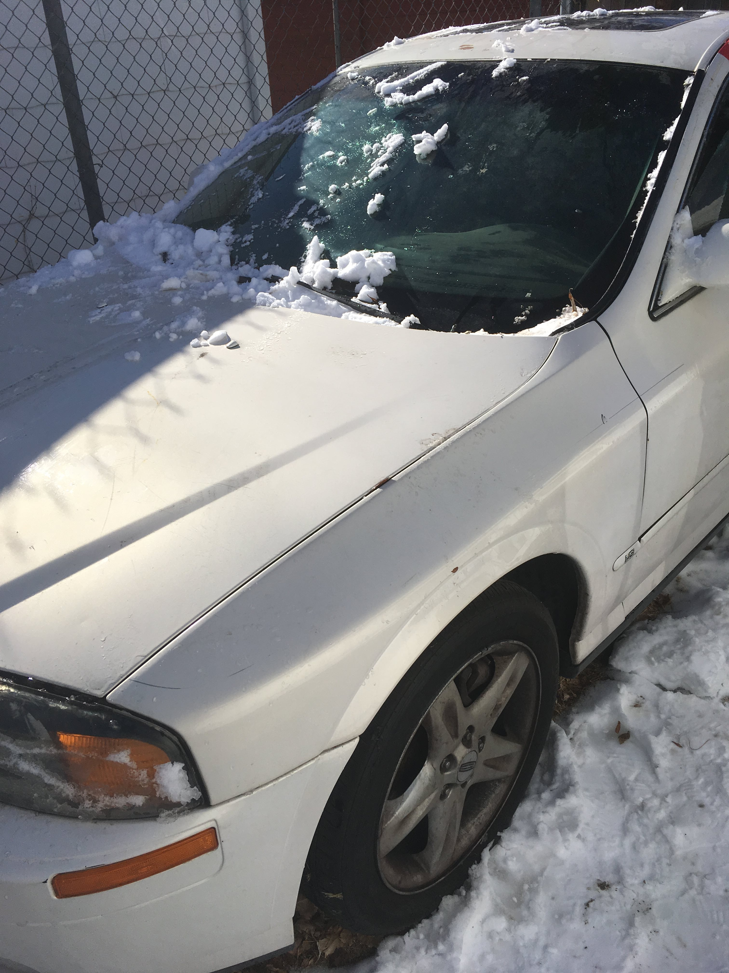 Junk 2001 Lincoln LS in Commerce City