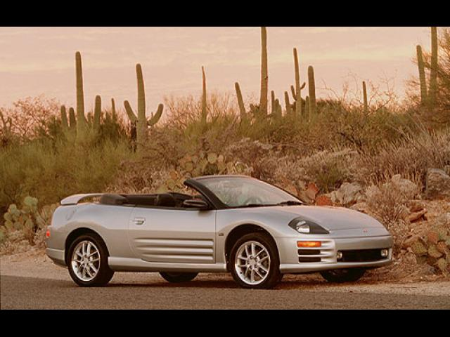 Junk 2001 Mitsubishi Eclipse in Barstow