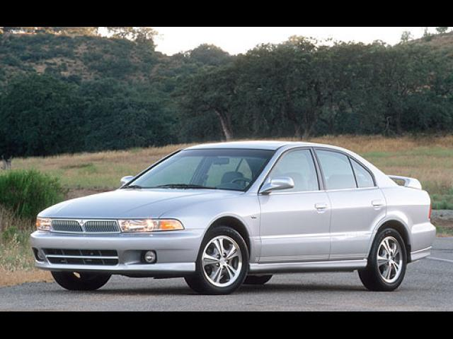 Junk 2001 Mitsubishi Galant in Los Angeles