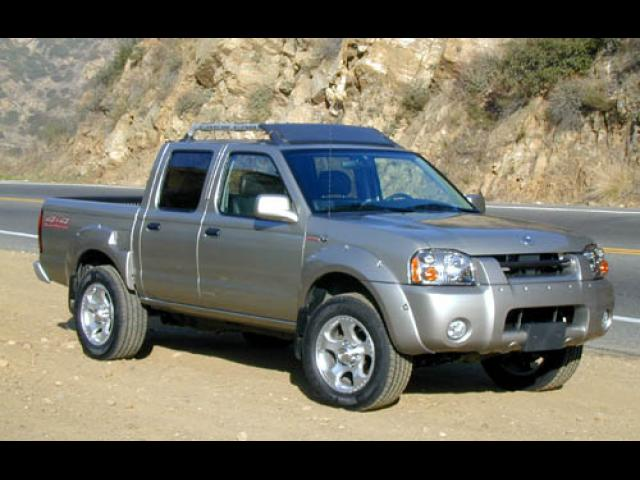 Junk 2001 Nissan Frontier in Orange