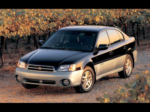 Junk 2001 Subaru Legacy in Washington