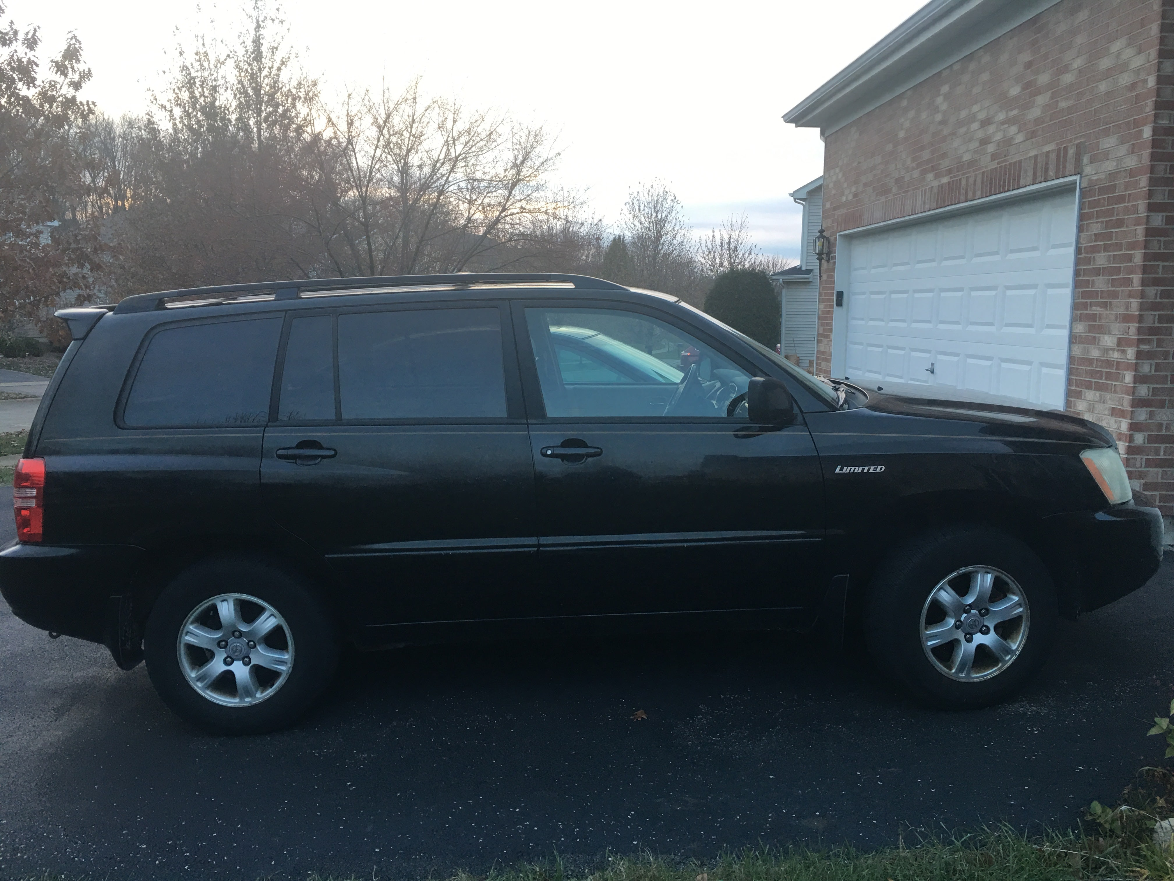 Junk 2001 Toyota Highlander in Bolingbrook