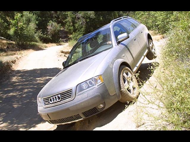 Junk 2002 Audi allroad in Olympic Valley