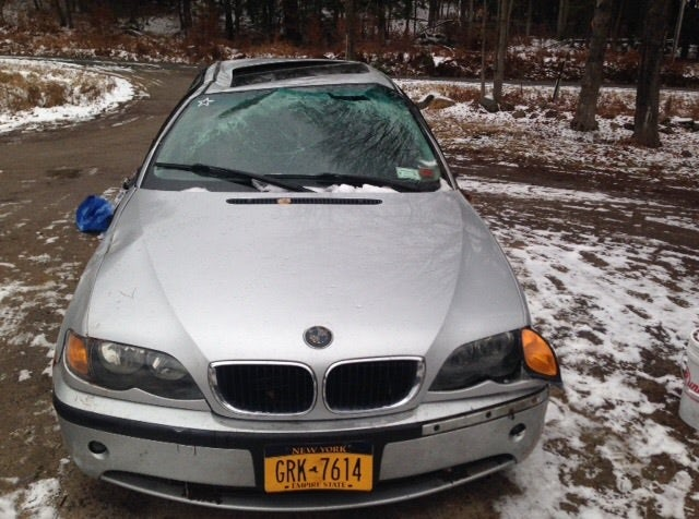 Junk 2002 BMW 325 in Northville