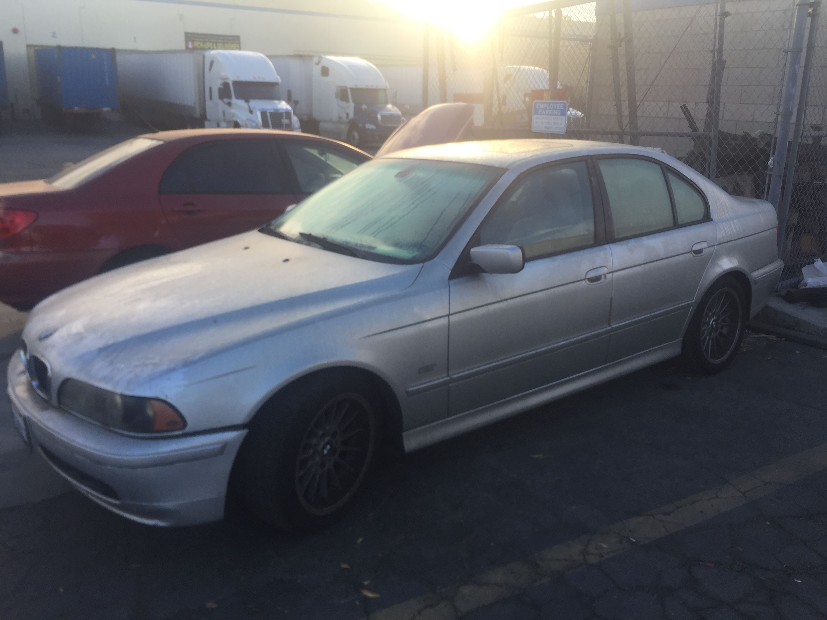 Junk 2002 BMW 540 in Rowland Heights