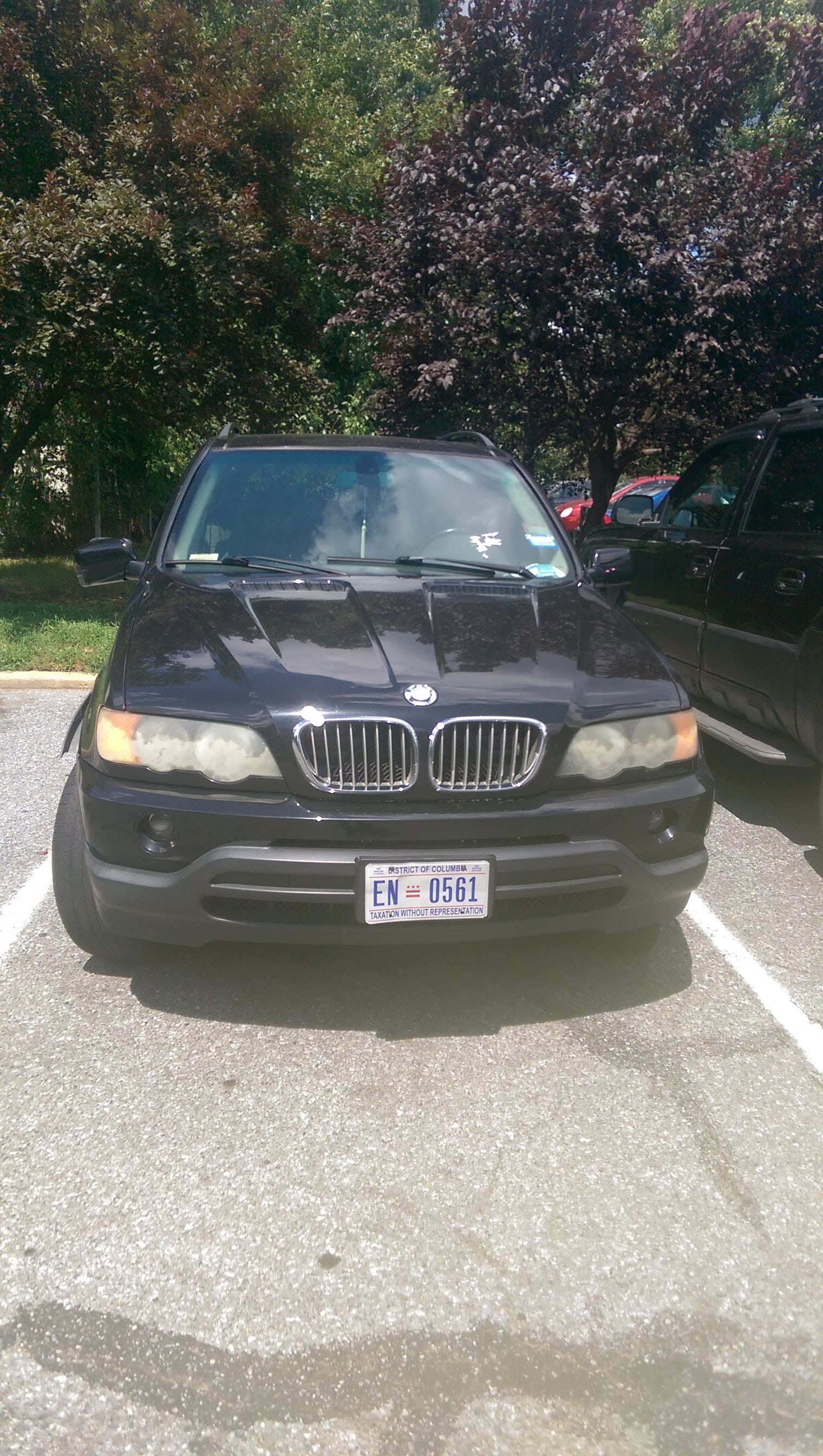 Junk 2002 BMW X5 in Hyattsville