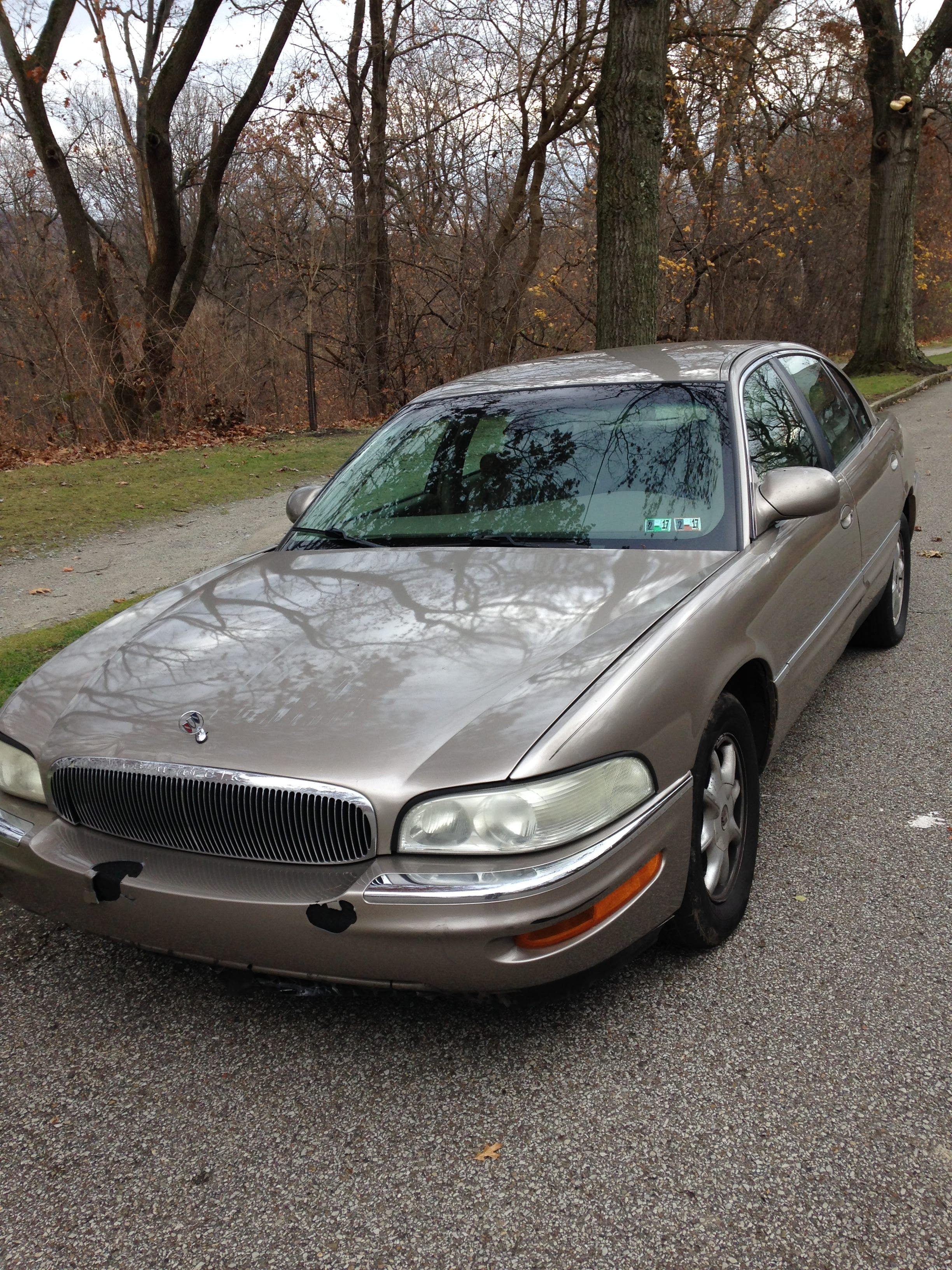 Junk 2002 Buick Park Avenue in Pittsburgh