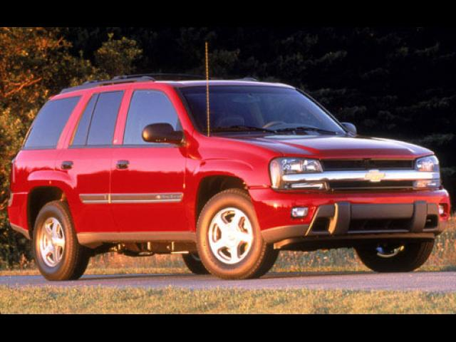 Junk 2002 Chevrolet TrailBlazer in Madera