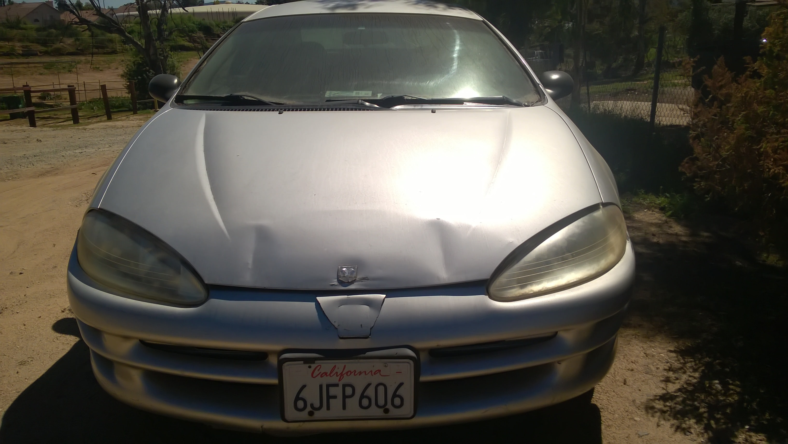 Junk 2002 Dodge Intrepid in Wildomar