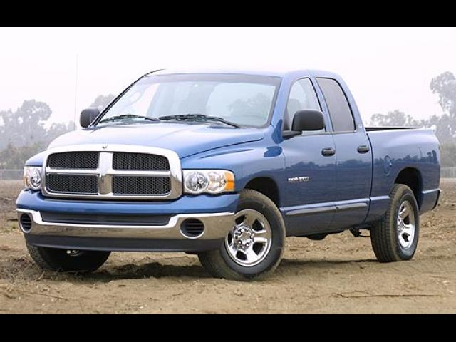 Junk 2002 Dodge RAM 1500 in Brick