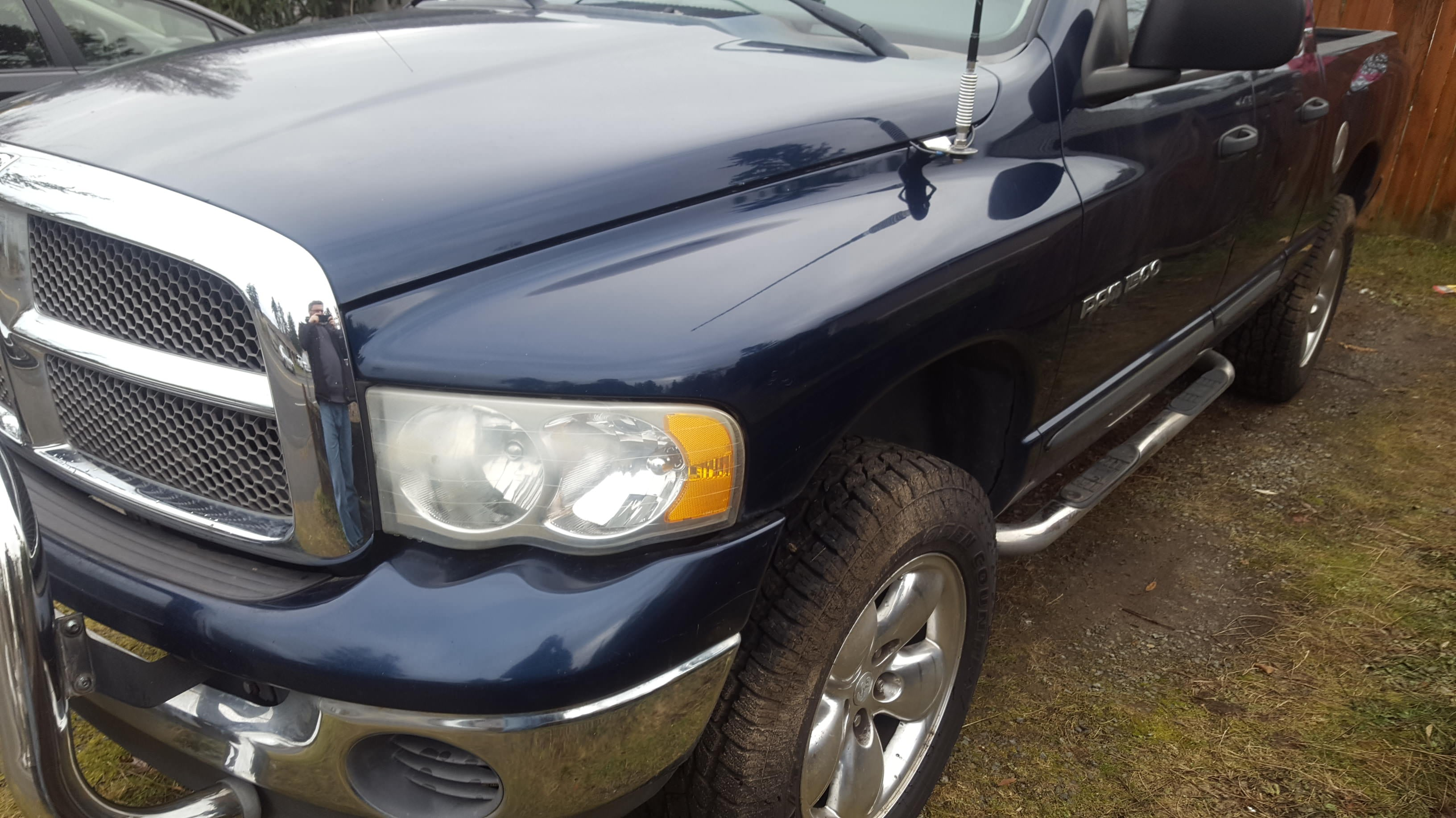 Junk 2002 Dodge RAM 1500 in Mountlake Terrace