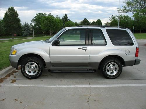 Junk 2002 Ford Explorer in Mountain View
