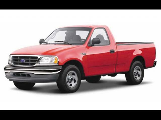 Junk 2002 Ford F150 in Easton