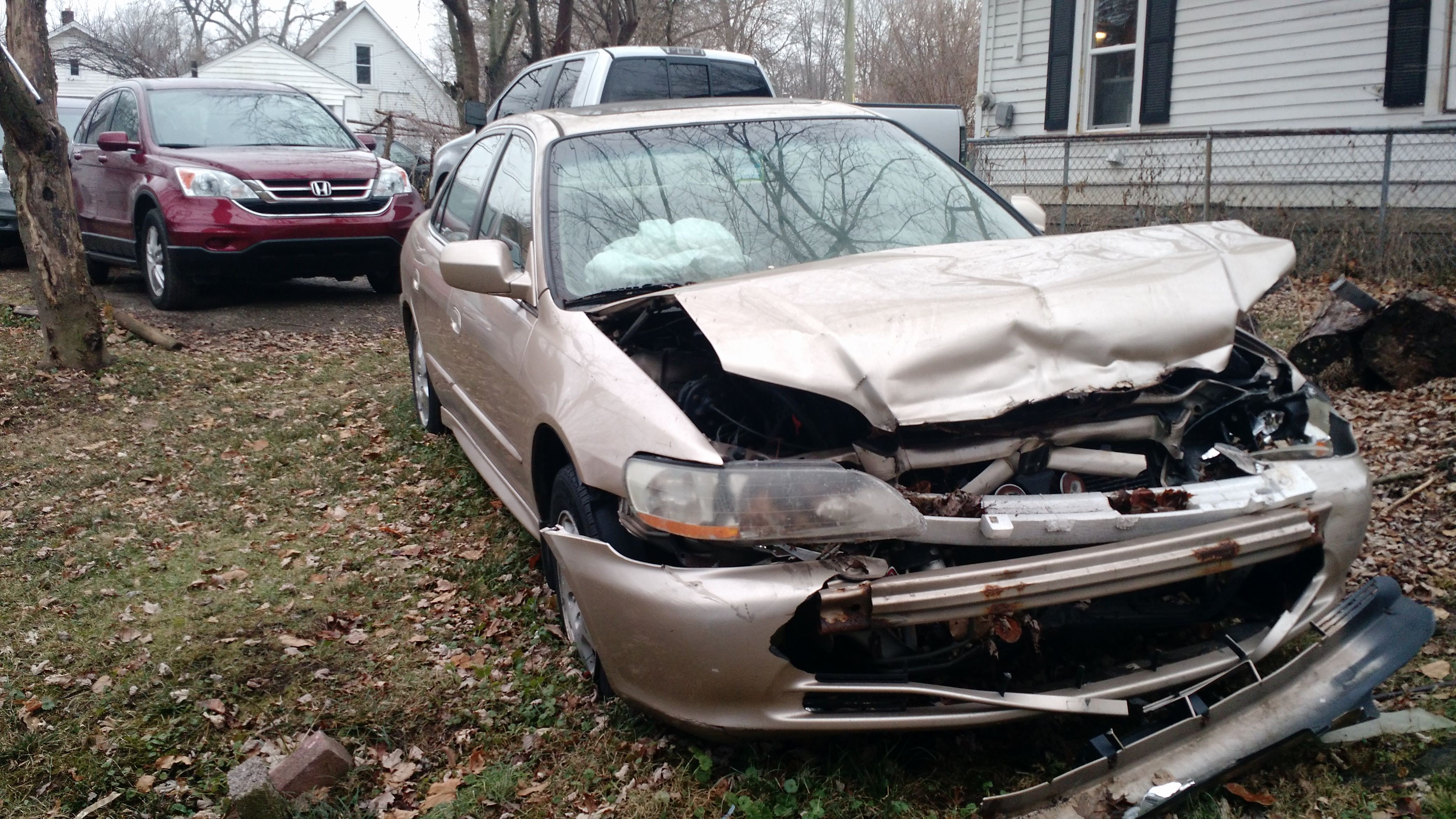 Junk 2002 Honda Accord in Indianapolis