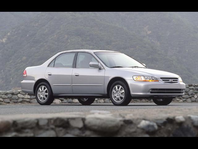 Junk 2002 Honda Accord in Orange