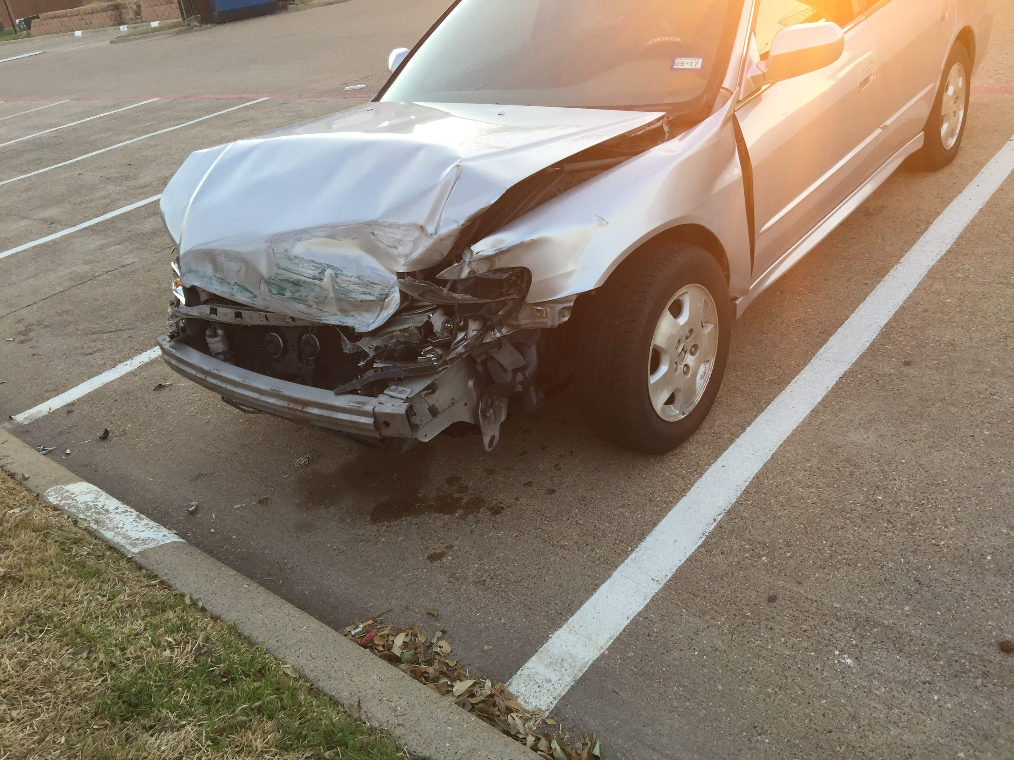 Junk 2002 Honda Accord in Plano