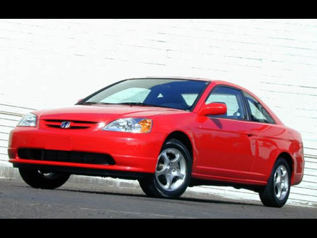 Junk 2002 Honda Civic in South Hackensack