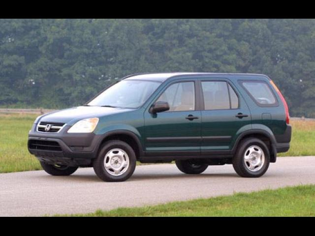 Junk 2002 Honda CR-V in La Crescenta