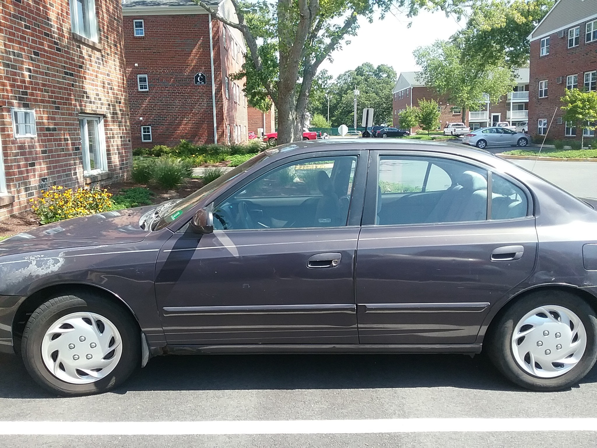 Junk 2002 Hyundai Elantra in Somers Point