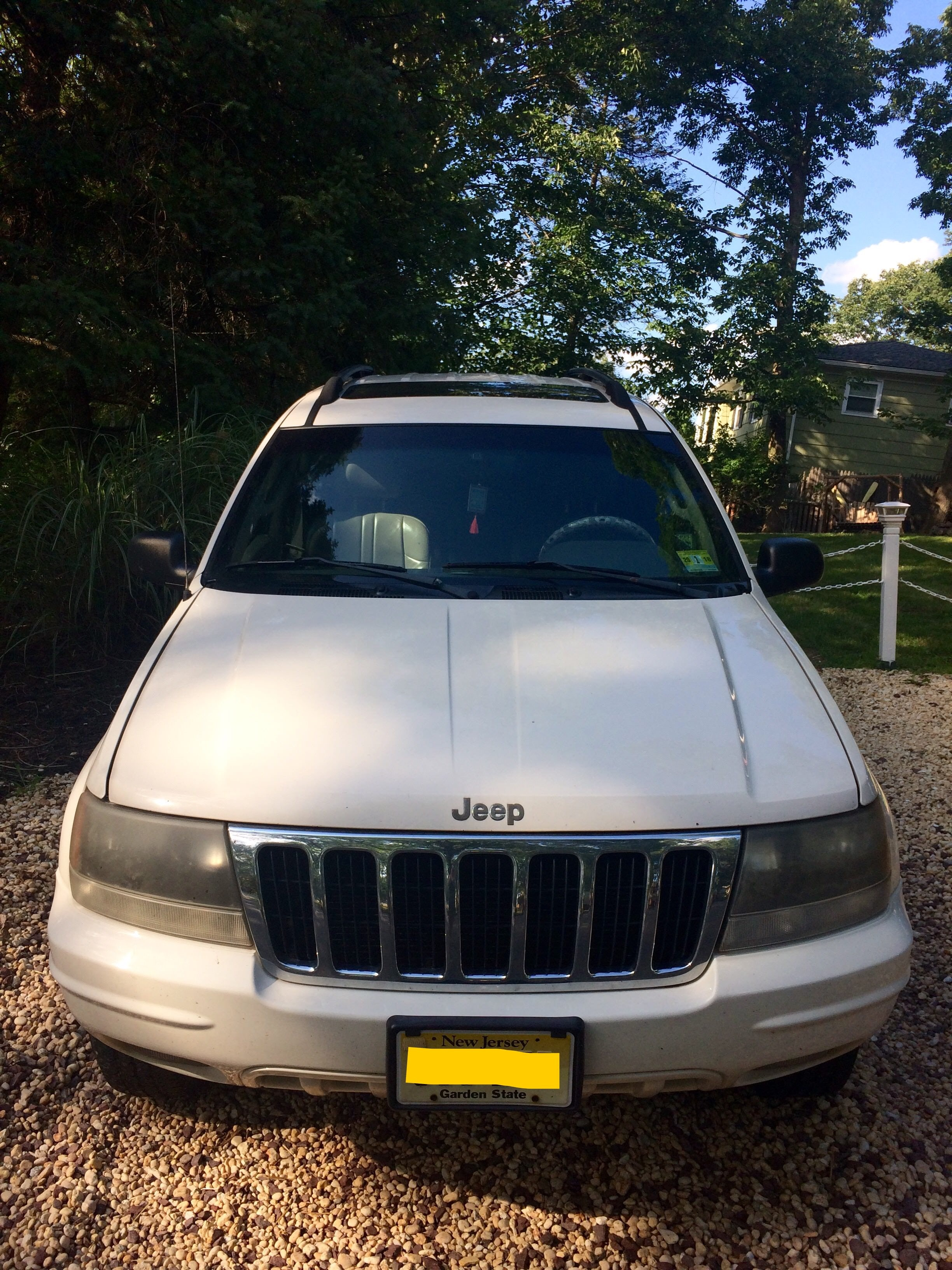 Junk 2002 Jeep Grand Cherokee in Hopatcong
