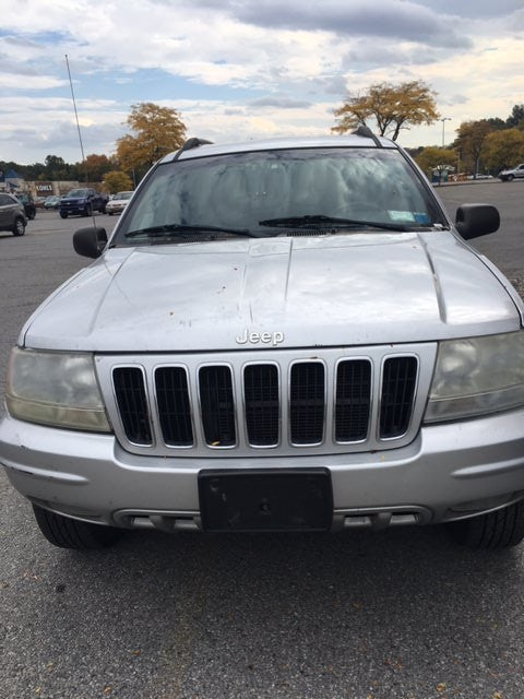 Junk 2002 Jeep Grand Cherokee in Wappingers Falls