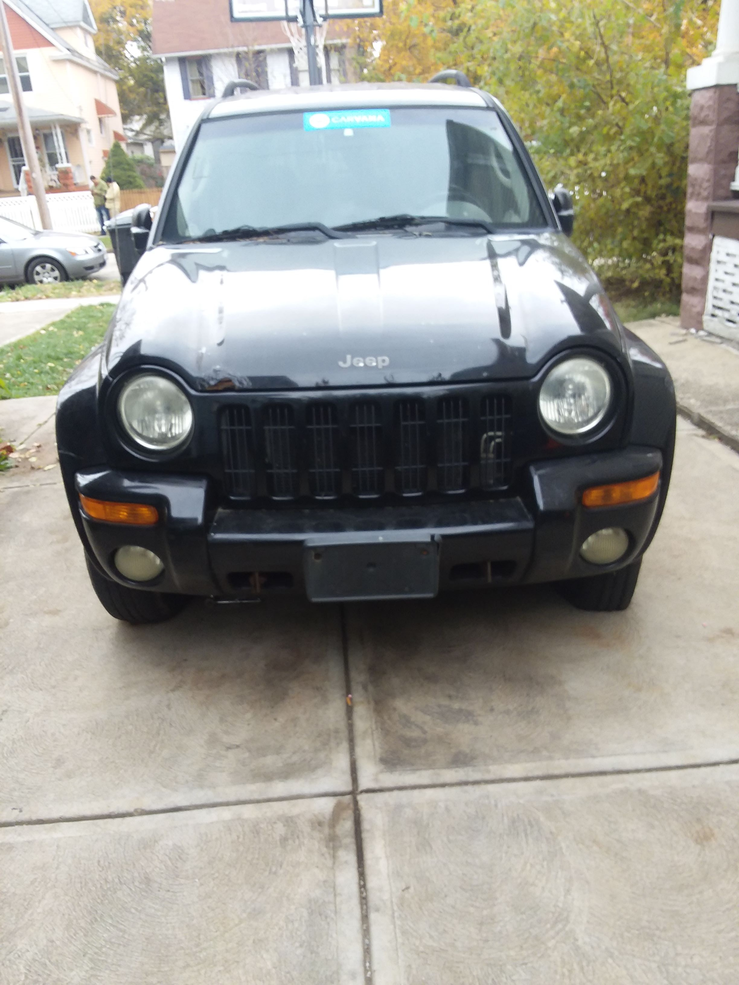 Junk 2002 Jeep Liberty in Cleveland