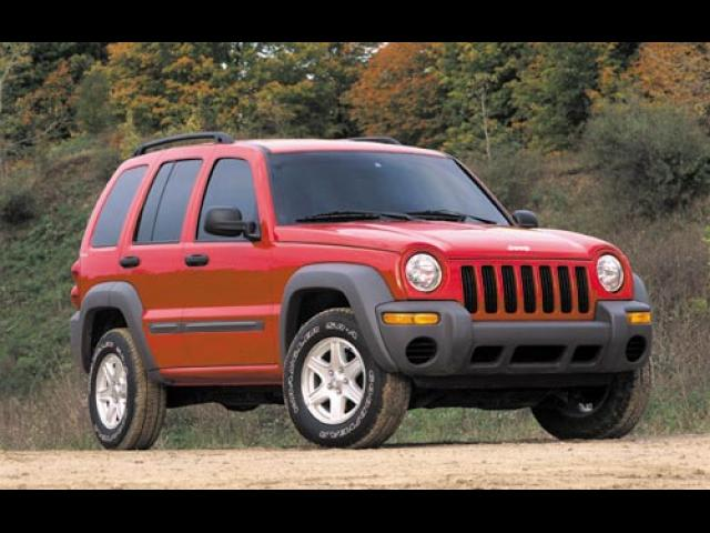 Junk 2002 Jeep Liberty in Dade City
