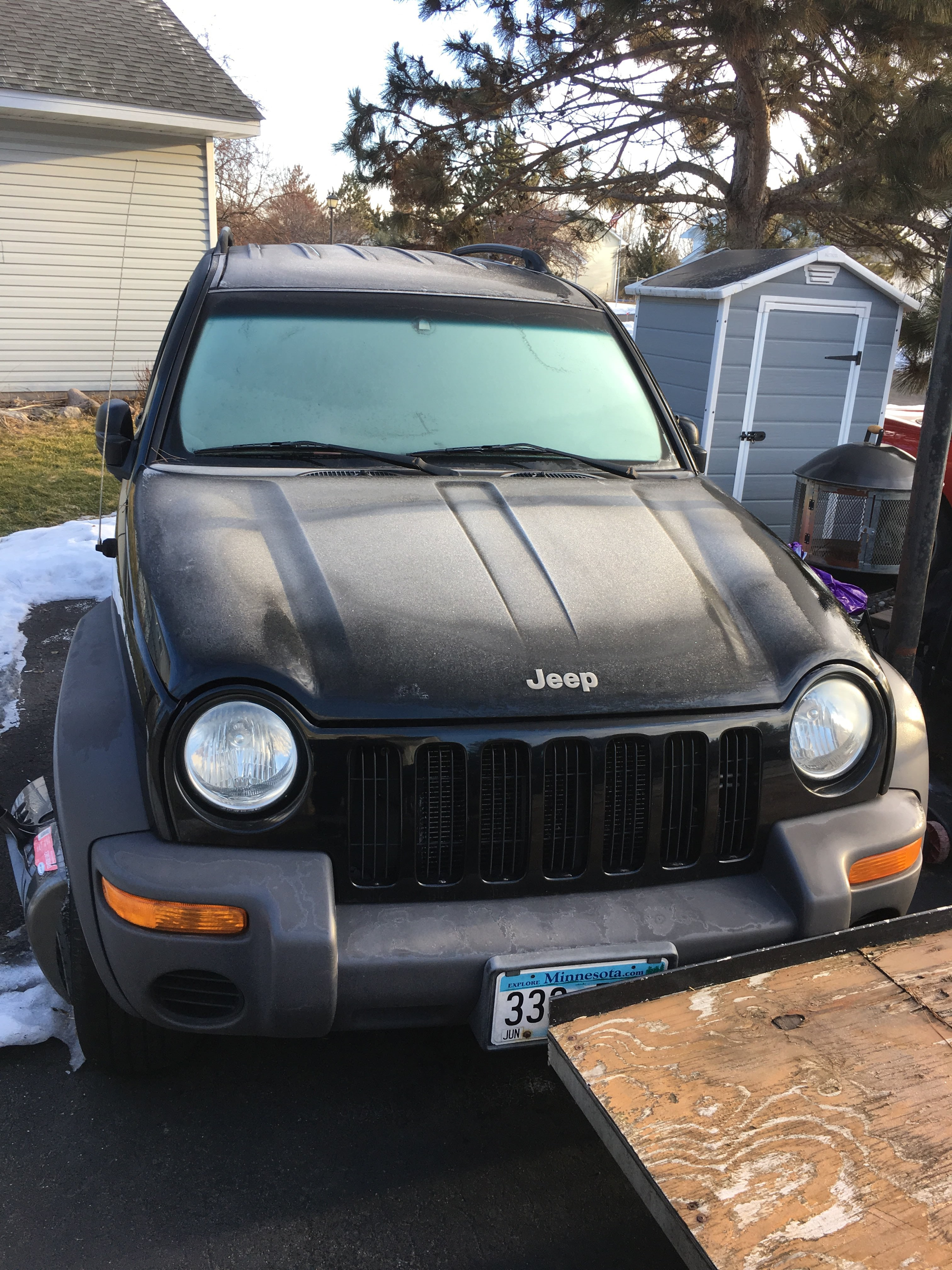 Junk 2002 Jeep Liberty in Wyoming