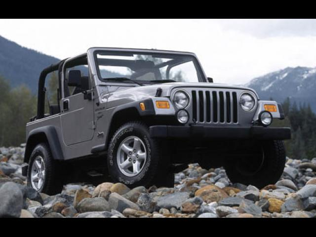Junk 2002 Jeep Wrangler / TJ in Youngstown