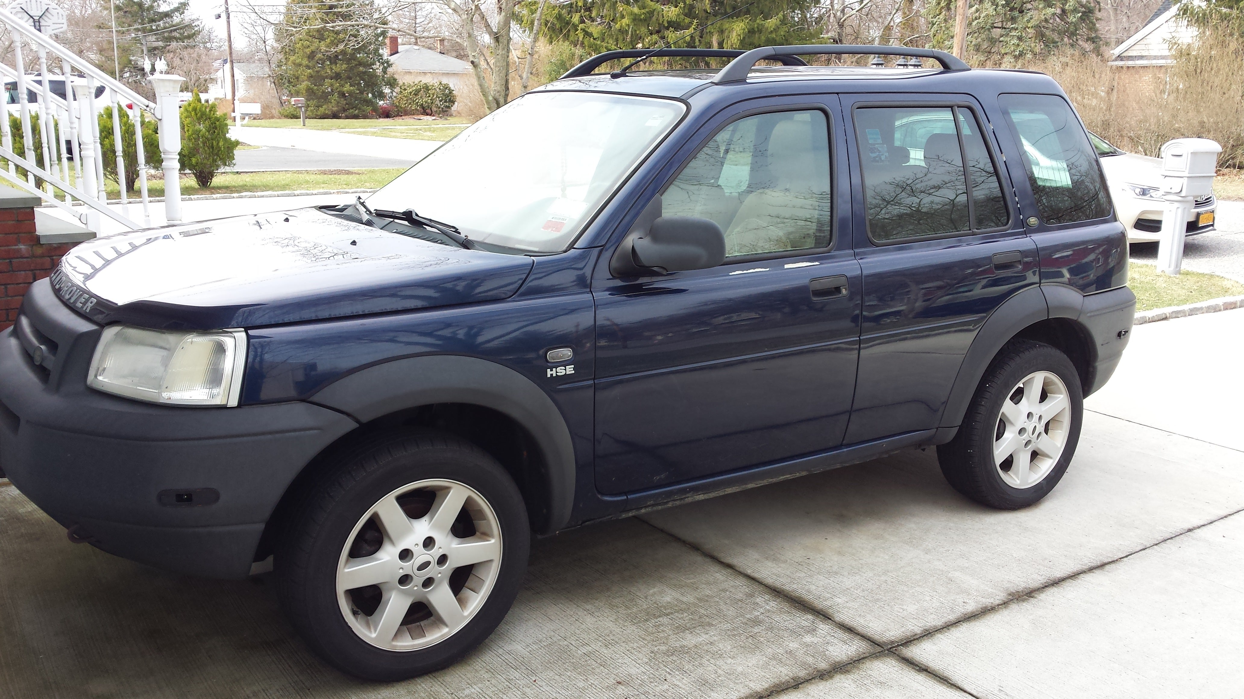 Junk 2002 Land Rover Freelander in Islip Terrace